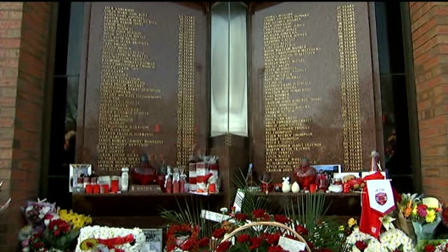 Government investigates Wikipedia 'slurs' from Whitehall computers 1442014 / T15041450 Flowers laid at foot of Hillsborough memorial outside Anfield...