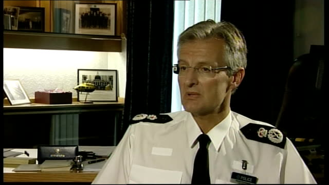 independent report reveals police cover up yorkshire chief constable david crompton interview sot liverpool ext union jack flag flying on flagpole... - hillsborough disaster stock videos and b-roll footage