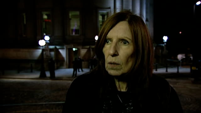independent report reveals police cover up ext anne williams interview sot - hillsborough disaster stock videos and b-roll footage