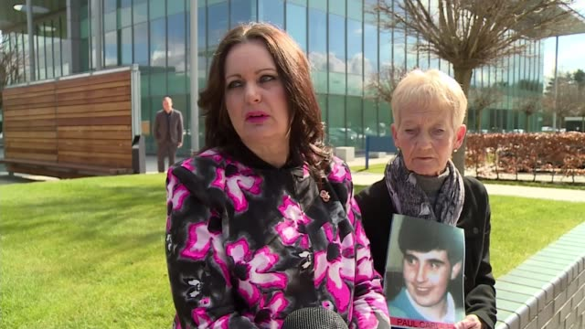 hillsborough disaster inquest: coroner to accept a majority verdict over unlawful killing; donna miller interview sot yorkshire: sheffield:... - hillsborough stadium stock videos & royalty-free footage