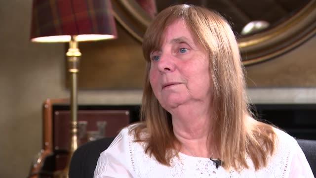 jury rules that 96 victims were unlawfully killed england liverpool int margaret aspinall interview sot 6 o clock in the morning decided needed to... - メアリー ナイチンゲール点の映像素材/bロール
