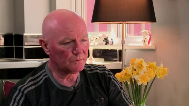 jury rules that 96 victims were unlawfully killed steve kelly interview sot - ジャッキー ロング点の映像素材/bロール