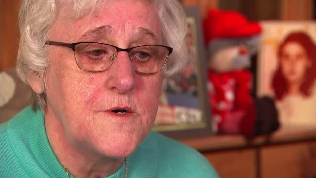 jury rules that 96 victims were unlawfully killed christine mcevoy interview sot - ジャッキー ロング点の映像素材/bロール