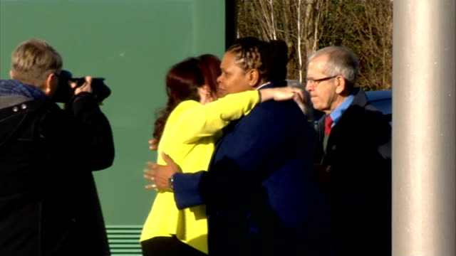 Match commander David Duckenfield gives evidence Family members hugging outside inquest