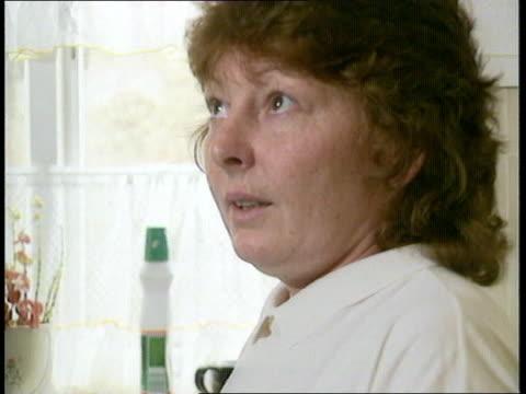 Hillsborough Disaster survivor Gillian Edwards interview ENGLAND Birkenhead INT Gillian Edwards interview SOT Pat Edwards interview SOT Gillian with...
