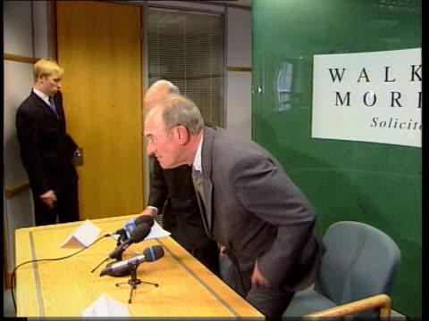 hillsborough disaster: trial: jury fails to return verdict; england: west yorksire: leeds: leeds crown court: ext tms ex-superintendent bernard... - other stock videos & royalty-free footage