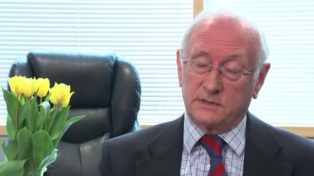 hillsborough inquest aftermath: south yorkshire pcc alan billings admits force 'got it wrong'; south yorkshire: int dr alan billings interview sot -... - sports period stock videos & royalty-free footage