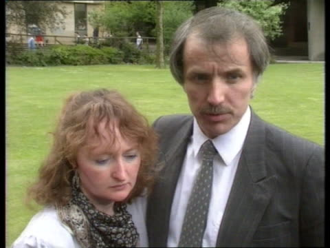 Day 4 ENGLAND Sheffield CMS Jenny Hicks PULL OUT with Trevor Trevor Hicks with arm around Jenny intvw'd SOF police actions / bad treatment of him by...