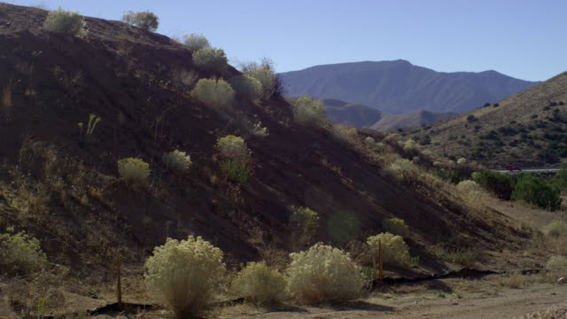 ms hilly landscape, palmdale, california, usa - palmdale stock videos and b-roll footage