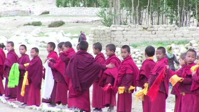 a himalayan shangri la that was closed to visitors until 1992 the former buddhist kingdom of upper mustang in nepal is facing unprecedented change as... - satellite tv stock videos and b-roll footage