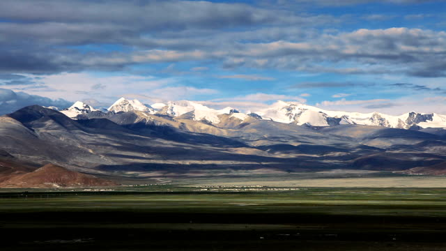 himalayas and tibetan plateau - tibetan plateau stock videos & royalty-free footage