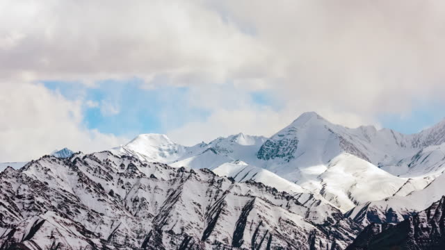 himalayas mountain in leh ladakh india - traditionally tibetan stock videos & royalty-free footage