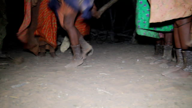 cu himba tribal dancing - indigenous culture stock videos & royalty-free footage