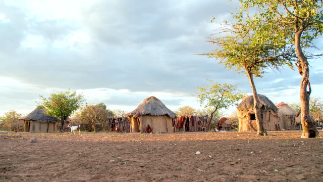 ws ds himba village - remote location stock videos & royalty-free footage