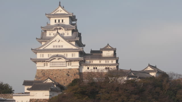 himeji castle is a japanese castle in the city of himeji, japan. - 城点の映像素材/bロール