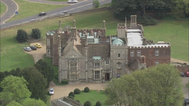 hinchinbrooke house - circa 11th century stock videos & royalty-free footage