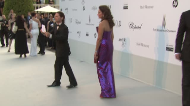 Hind El Achchab at the amfAR Gala Red Carpet Arrivals 64th Cannes Film Festival at Antibes