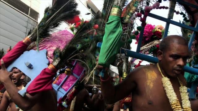 Hindi people celebrating Ganesh Chaturthi in Paris France