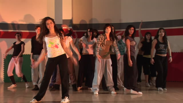 hd: hip hop dancing - dance studio stock videos and b-roll footage