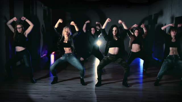 hip hop dancing - showgirl stock videos and b-roll footage