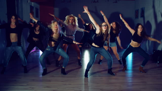 hip hop dancing - dance studio stock videos and b-roll footage