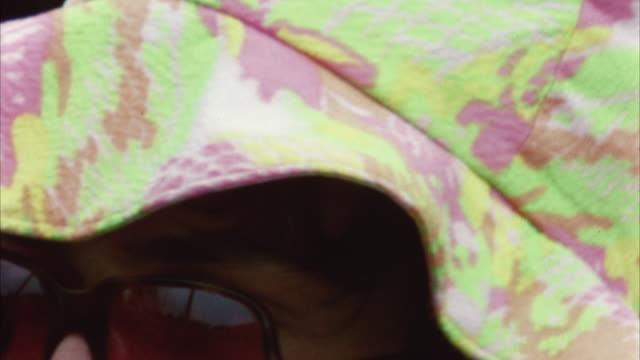 vidéos et rushes de montage hippie audience at woodstock festival / bethel, new york, usa - hippie