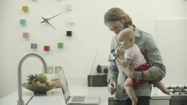 hipster family at home - genderblend stock videos & royalty-free footage