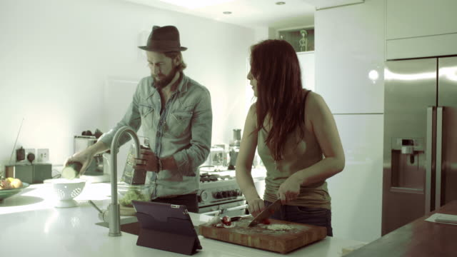 Hipster Family at home