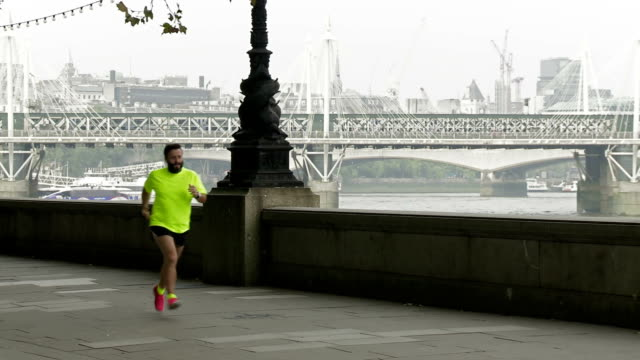 WS Hipster Jogging In London