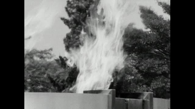 cu zo hiroshima flame of peace; 1966 - symbols of peace stock videos & royalty-free footage