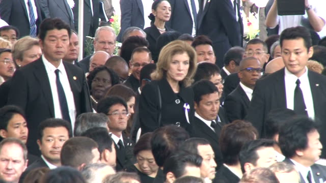 hiroshima marked the 70th anniversary of the us atomic bombing of the city on thursday with mayor kazumi matsui urging world leaders to renew their... - anniversary stock videos & royalty-free footage