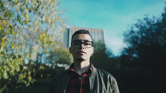 Hispanic man in London