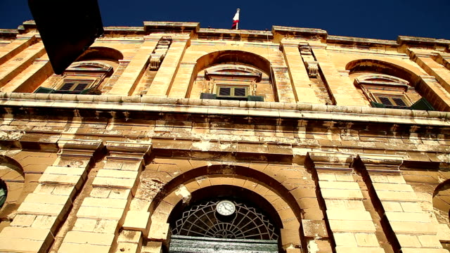 historic building in malta - deterioration stock videos & royalty-free footage