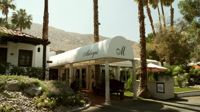 TS historic California boutique hotel with New York style canvas canopy entrance