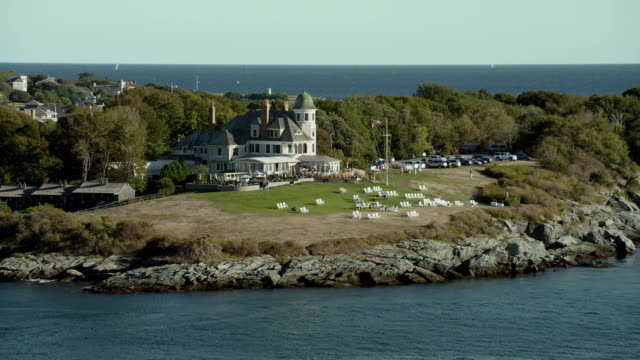 Historic Castle Hill Inn In Newport Rhode Island