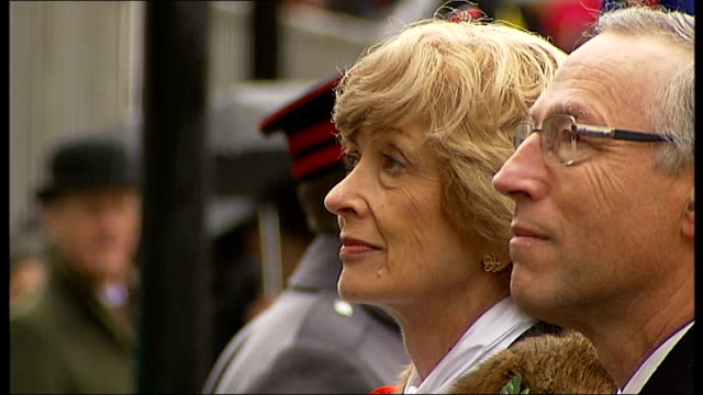 woolf steps down as chair lib city of london ext fiona woolf at swearingin ceremony - lord mayor of london city of london stock videos & royalty-free footage