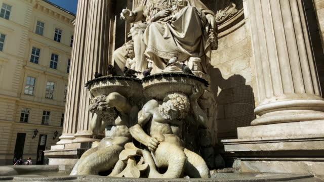 vídeos y material grabado en eventos de stock de fuente histórica de viena - cultura austríaca