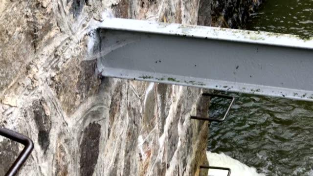 historic german dam in south west poland in zagorze slaskie near swidnica city - 1910 stock videos & royalty-free footage