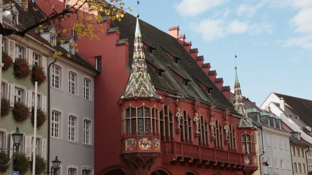 MS Historic Kaufhaus at old town / Freiburg, Baden-Wurttenberg, Germany
