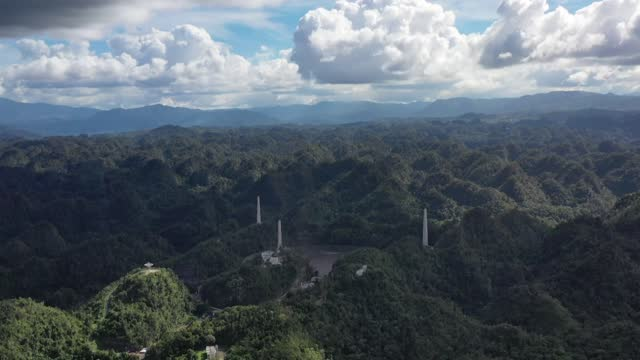 historic radio telescope collapsed on the caribbean island of puerto rico on tuesday, the officials said. no injuries have been reported. the arecibo... - ruined stock videos & royalty-free footage