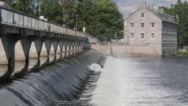 Historische Stätte von Ile Des Moulins Terrebonne Lanaudiere, Quebec, Kanada