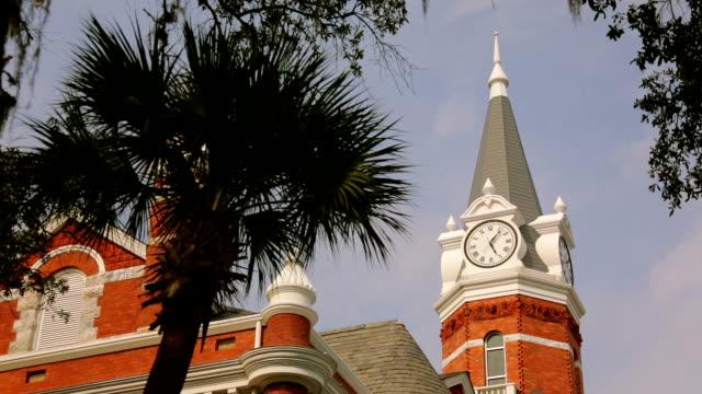stockvideo's en b-roll-footage met historic spire. - kerktoren