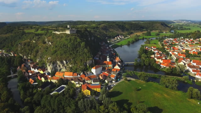 historic town of kallmuenz in bavaria - upper palatinate stock videos & royalty-free footage
