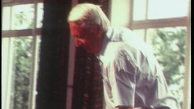 police watchdog to investigate claims of edward heath coverup t02087809 / 281978 location unknown int various of heath conducting european youth... - edward heath stock-videos und b-roll-filmmaterial