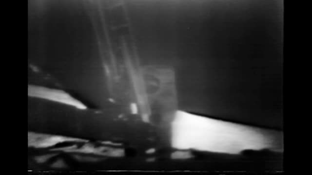 historical footage of the apollo 11 mission to the moon. the original footage was enhanced in 2009. the available audio has been greatly improved by... - first steps stock videos & royalty-free footage