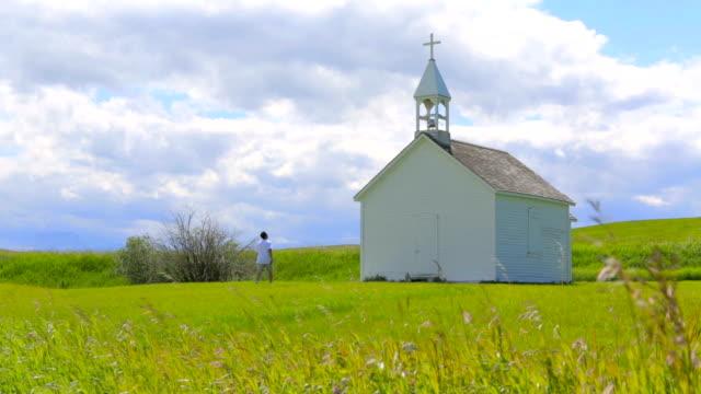 historical rural church - church stock videos & royalty-free footage