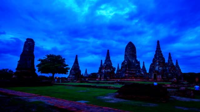 Historical temple in Ayutthaya, Thailand