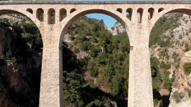 historical varda bridge in adana. turkey - viaduct stock videos & royalty-free footage