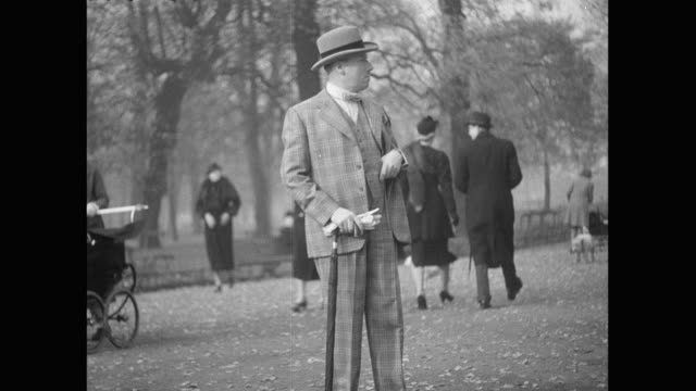 1936 - history, scenes of hyde park - hyde park london stock videos & royalty-free footage