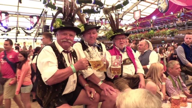 hit by a string of crises german chancellor angela merkel's conservative union now faces two likely regional poll debacles in bavaria on sunday and... - dondolarsi video stock e b–roll